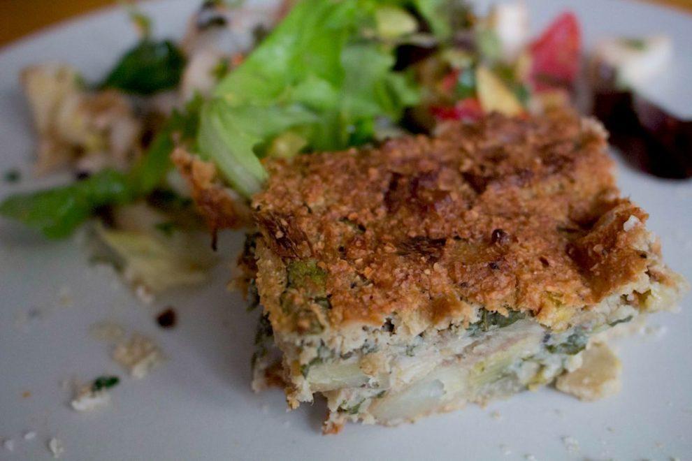 Recette v gane de gratin de pomme de terre et poireaux for Cuisinier vegan