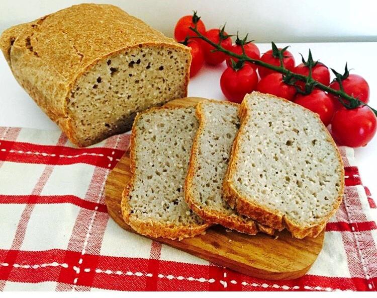 Recette v gane de pain au levain de sarrasin entier sans levure sans huile sans gluten je - Recette pain sans levure ...