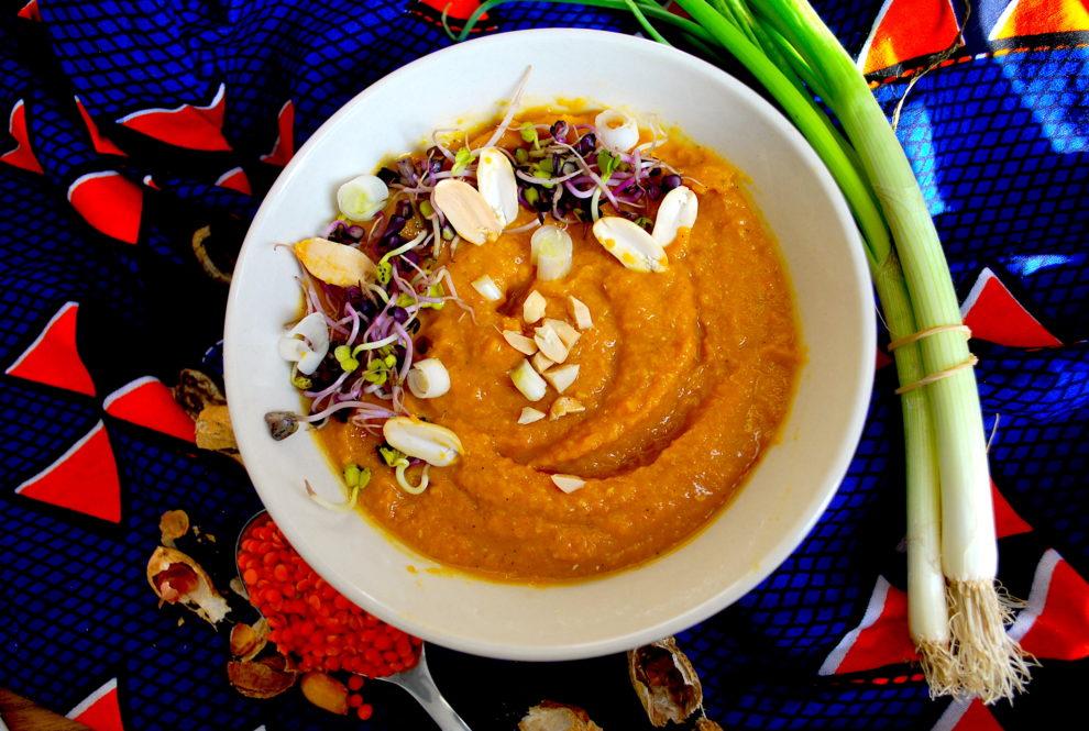 Recette v gane de houmous lentilles corail carotte et for Cuisinier vegan