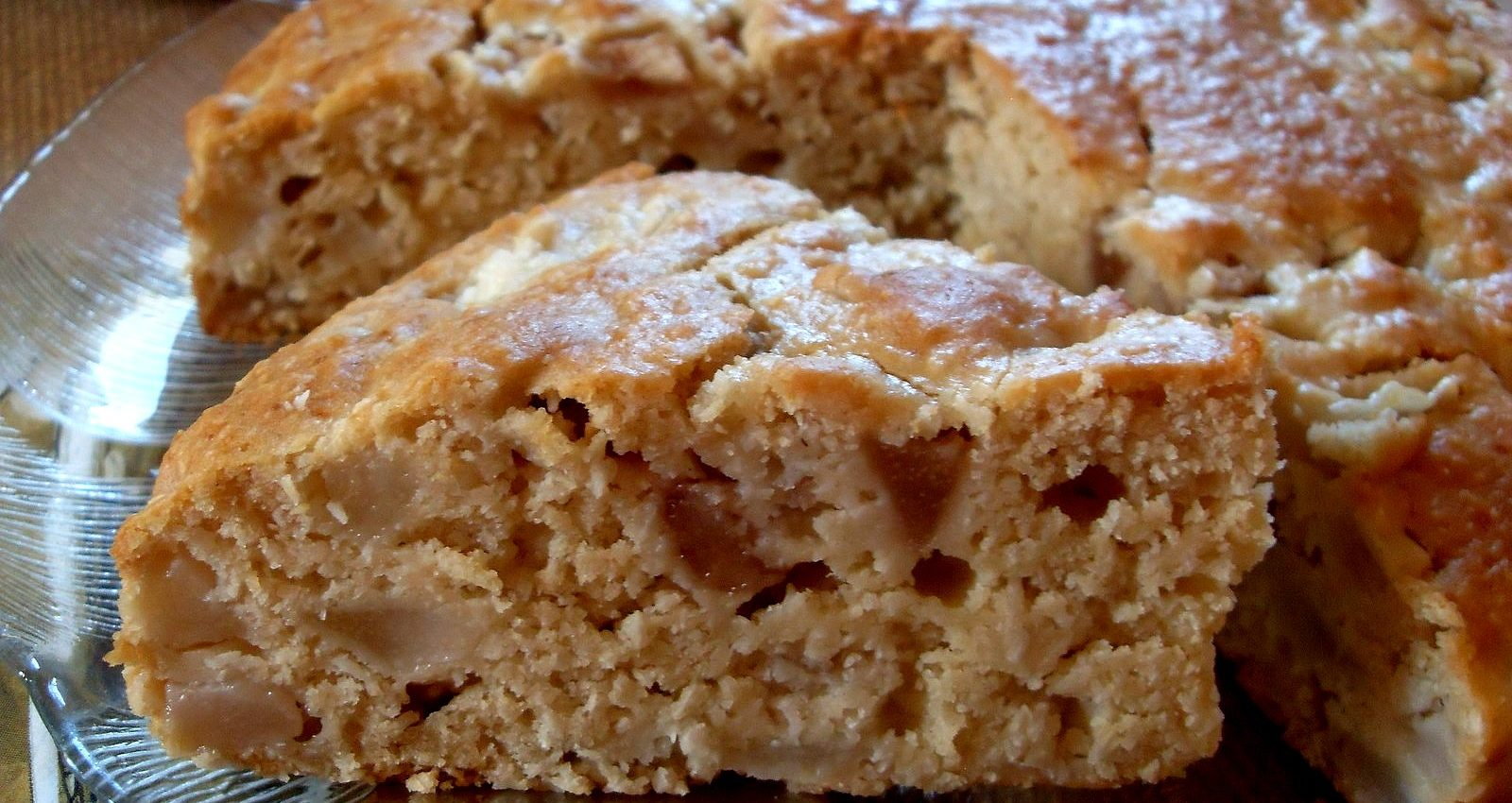 Recette v gane de g teau poires noix de coco je cuisine for Cuisinier vegan